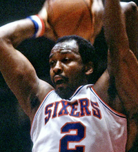 Moses Malone Action Portrait